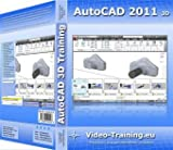 AutoCAD 2011 3D Video-Training: 4 Stunden Video-Training (Über 73 Videos). Für Windows 98/ME/2000/XP/Vista/Windows7.Incl. Übungen