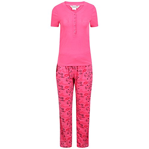 Loving Moments - Ensemble de pyjama - Femme Rose - Rose