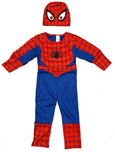 Get Wivvit Jungen Ultimate Spiderman Gepolstert Körper Kostüm -