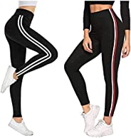 FITG18 Women's Slim Fit Jeggings (Black, Free Size 28-34 Inch) -pack