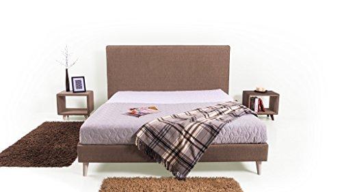 Trendyhome24 Polsterbett Bett Slim-s. 120×200 cm. Lattenrost im Preis! Premium Angebot !