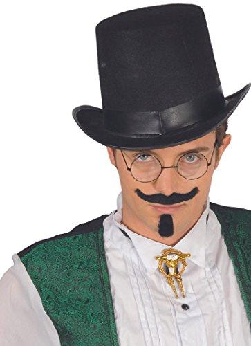 Guirca Sombrero chistera fieltro alta Talla única