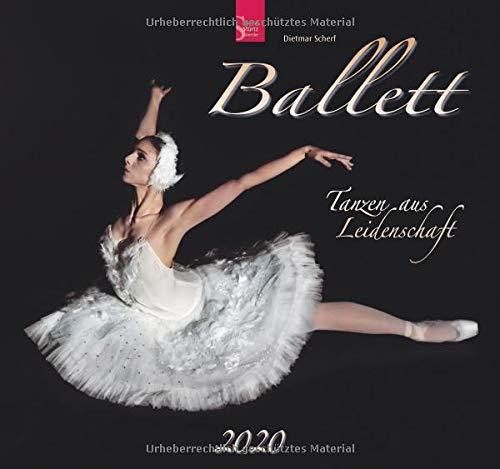 Ballett 2020: Mittelformat-Kalender