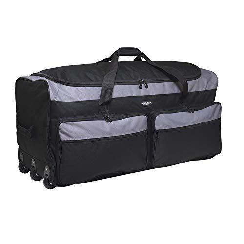 "Travelers Club 36"" X-Large Expandable Triple Wheeled Rolling Duffel Luggage"