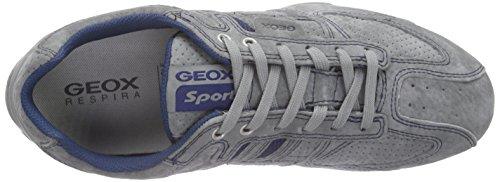 Geox Uomo Snake K Herren Low-Top Grau (LAKEC4069)