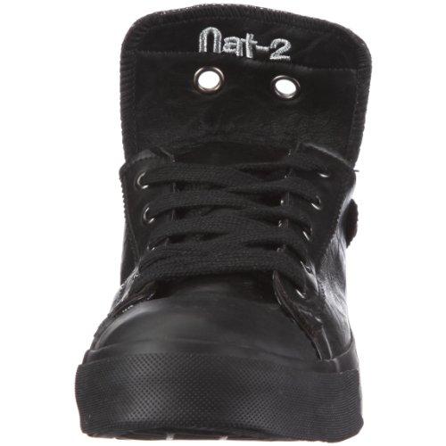 Nat-2 Stack 4 in 1 MS41WRBL44, Baskets mode homme Noir