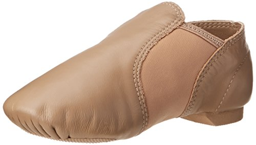 Capezio E-Serie EJ2C Jazz Slip On/Small Kid/Big Kid, Beige - Caramel - Größe: 12w Child