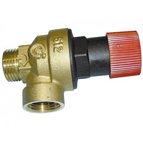 Válvula seguridad caldera Beretta 1/2' IDRA 4250