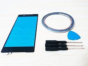 Ersatz Für Sony Xperia Z5 E6653 E6603 Touchscreen Display Glas Schwarz Reparatur + Werkzeug & Klebeband