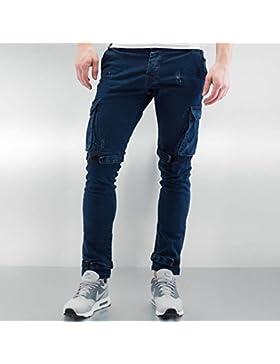 2Y Hombres Pantalones / Cargo Velcro Closure