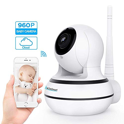 Home Entry Spionage-Kamera Überwachungskamera WiFi Innen-Kamera,WLAN IP Webcam Home und Baby Monitor mit Bewegungserkennung, Zwei-Wege-Audio, Nachtsicht, unterstützt Fernalarm