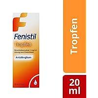 Fenistil Tropfen Dimetindenmaleat 1mg/ml, 20 ml, hilft bei allergischem Schnupfen und Windpocken preisvergleich bei billige-tabletten.eu