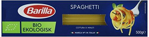 Barilla Pasta Nudeln Spaghetti Bio, 5er Pack (5 x 500 g)