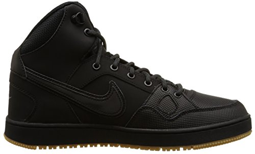 Nike Son of Force Mid Winter, Chaussures de Sport-Basketball Homme Black/Blk-Anthrct-Gm Lght Brwn