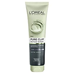 Black Clay : LOreal Paris Pure Clay Black Face Wash 150ml