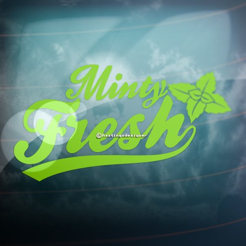 minty-fresh-funny-carbumperwindow-jdm-dub-vag-euro-vinyl-decal-sticker-lime-green