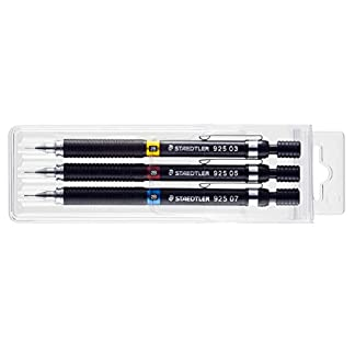 Staedtler Mechanical Pencil for Drawing Set of Three 925 Wp3 (japan import)