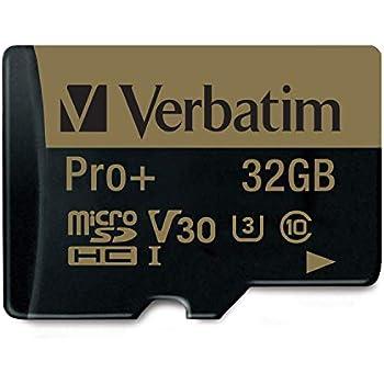 Verbatim Pro+ U3 Micro SDHC-Speicherkarte - 32 GB: Amazon
