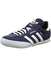 adidas Men's Sam Super Suede Fitness Shoes, UK 8 / EU 42 / US 8.5, Blue (Navy/Running White Footwear)