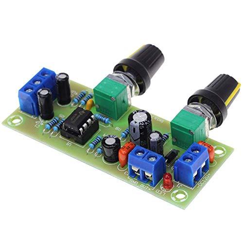 Vorverstärker Platine Dc 10-24V Subwoofer Nützlich 22Hz-300Hz Bass Ton Lautstärkeregler Einzel Netzteil Verstärker Zubehör Smart Modul Praktische Filter Platte Niedrige Electronics