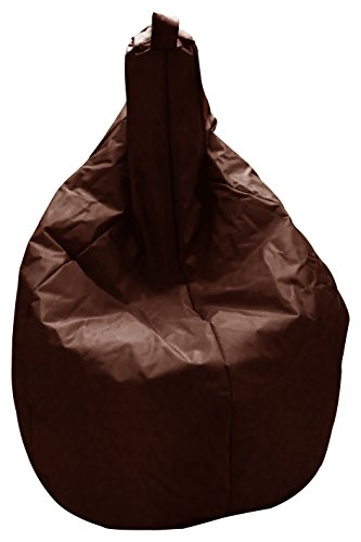 13casa nylon a11 - poltrona sacco. dim: 80x80x120 h cm. col: marrone. mat: nylon.