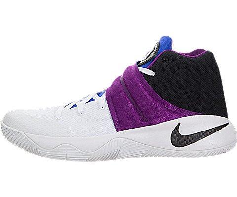 Nike Kyrie 2, Zapatillas de Baloncesto para Hombre, Blanco (White/Black-Bold Berry-Lyn Bl), 45 EU
