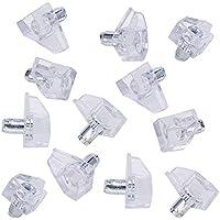 12 Stück Kleiderschrank Regal Stützstifte Ohrstecker Pegs Silber 5mmx13.5mm