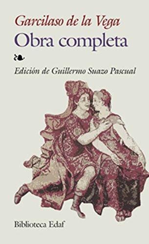 Obra Completa-Garcilaso De La Vega (Biblioteca Edaf) por Garcilaso de la Vega