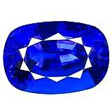 Tansanit Lose Edelsteine 29.89 ct AAAA+ GRADE CUSHION CUT (21 x 14 mm) 100% NATURAL D'BLOCK PURPLISH BLUE TANZANITE LOOSE GEMSTONE