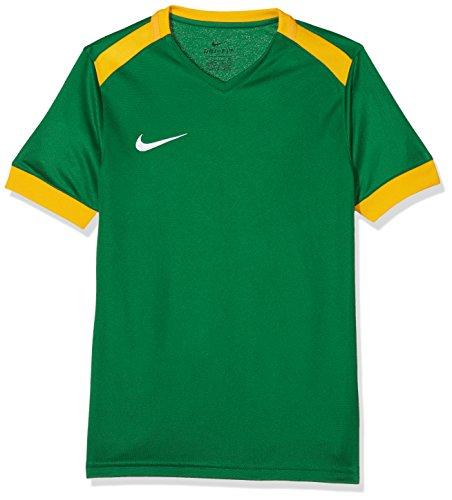 Nike Park Derby II Jersey SS, T-Shirt Unisex Bambini, Pine Green University Gold/(White), L