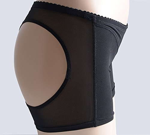 Butt Lifter, Fascigirl Donne Mutandine Mutandine Involucro Involucro Sedute Involucro Enhancer Boyshort Controllo Tummy Shaper Body per Donne Womens Nero