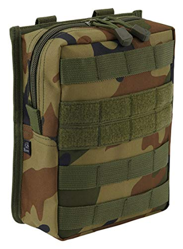 Brandit Molle Pouch Cross Woodland Woodland Band
