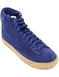2019 2018 Nike Blazer Mid Binary Blue Suede Gum Women Nike