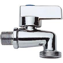 Geräteventil Kombi Ventil Geräteanschluss Anschluß Waschmaschine Doppelhahn