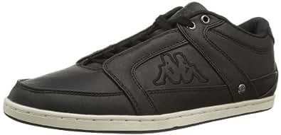 Kappa FUEGO 241412, Unisex-Erwachsene Sneaker, Schwarz (BLACK/OFFWHITE 1143), EU 40