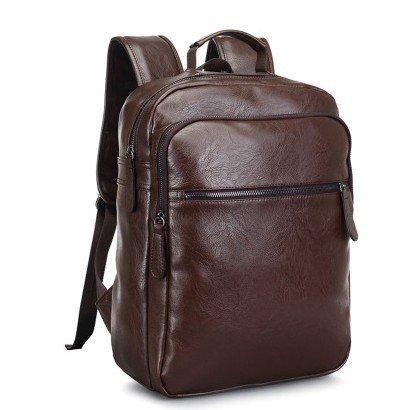 Mefly Männer Schultertasche Pu-Schultertasche Für Männer Männliche Package Travel Bag brown