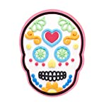 Crocs Sugar Skull Shoe Decoration Charms, Multicolour (-), One Size