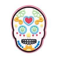 Crocs Sugar Skull Shoe Decoration Charms, Multicolour (-), One Size