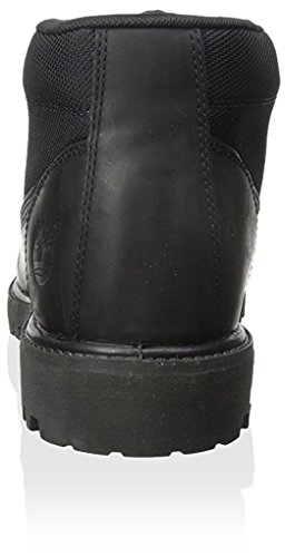 Timberland Mens 6-Inch Campsite Leather Boots Noir