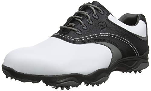 Footjoy Fj Originals, Scarpe da Golf Uomo, Bianco (Blanco/Negro/Gris 45306m), 42 EU