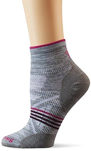 Smartwool Damen PHD Outdoor Ultralight Mini Socken, Grau-Light Gray Heather, m