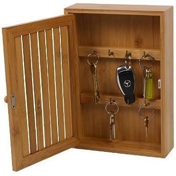 Wooden Wall Mounted Key Box