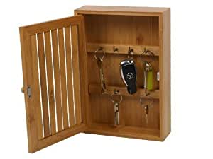 Wooden Wall Mounted Key Box Amazon Co Uk Kitchen Amp Home
