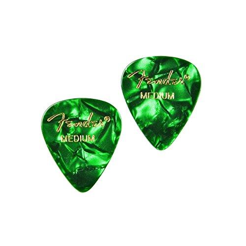 Grün Gitarre Plektrum Manschettenknöpfe–Geschenk für Musiker–Geschenk für Lehrer–Geschenk-Box enthalten
