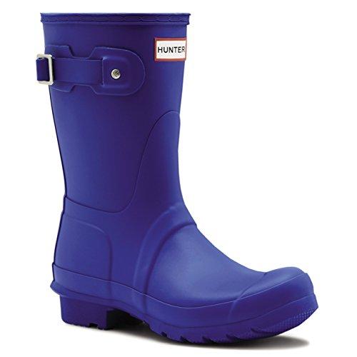 Damen Hunter Original Short Winter Schnee Wasserdicht Gummi Stiefel EU 36-43 (Hunter Stiefel Frauen Kurze Blau)