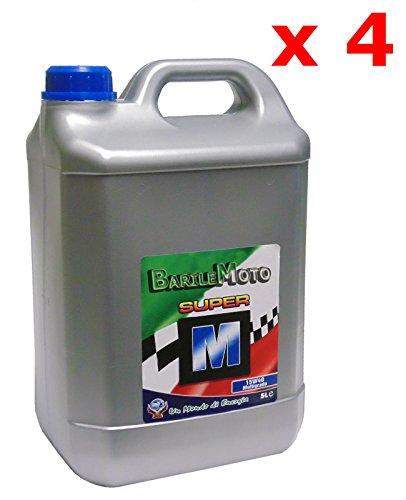 20 LT - LITRI Olio 15W - 40 Multigrado Motore Benzina / Diesel Auto - Trattore - Motoz