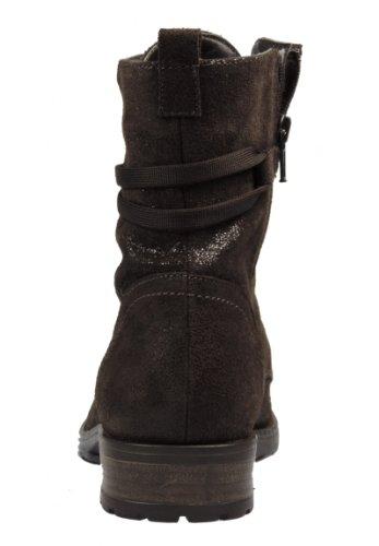 Tamaris Damen 25408 Kurzschaft Stiefel Mocca metallic