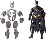 Mattel DC FYY22 - Batman Deluxe Figur, mit Geräuschen, 30 cm