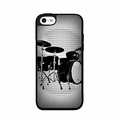 band-drums-set-plastic-phone-case-back-cover-iphone-5-5s-includes-bleureigntm-cloth-and-warranty-lab