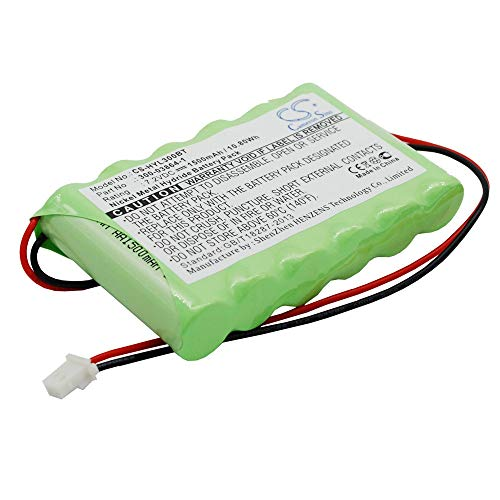Ersatz-Li-Ion-Akku Ni-MH-Alarmsystembatterie 1500mAh / 10.80Wh kompatibel für ADT Für Modell LYNX ALARM SECURITY PANEL / WALYNX-RCHB-SC wiederaufladbare Ersatzalarmsystembatterie Alarmsystembatterie Adt Alarm